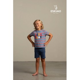 "Pyjama short garçon ""Matti"""