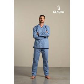 Pyjama long homme ouvert...