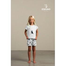 """Pyjama short fille """"Catitude"""""""