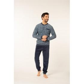 Pyjama Dany col boutonné